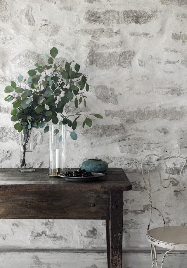 A farmhouse table in a beautifully simple Swedish island retreat