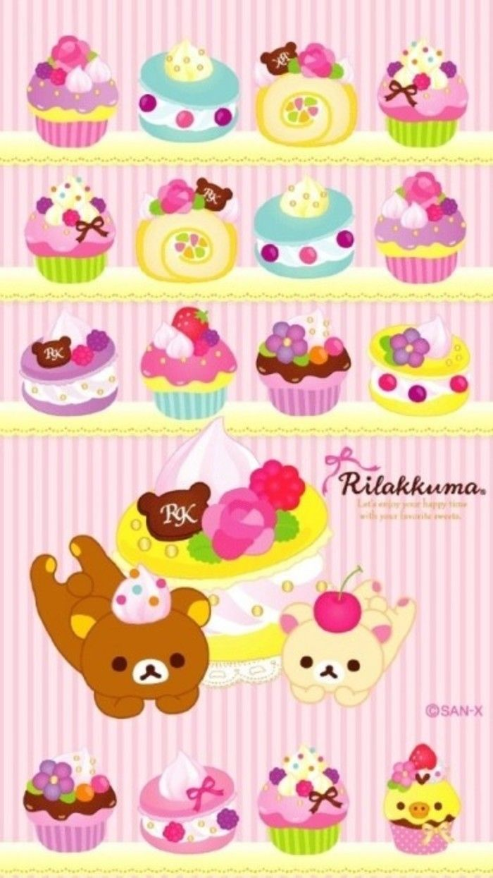 Beautiful Wallpaper Hello Kitty Cupcake - a82edb5b09352b40ea4e6b7bbe1aadb7--rilakkuma-wallpaper-kawaii-background  Graphic_49176.jpg