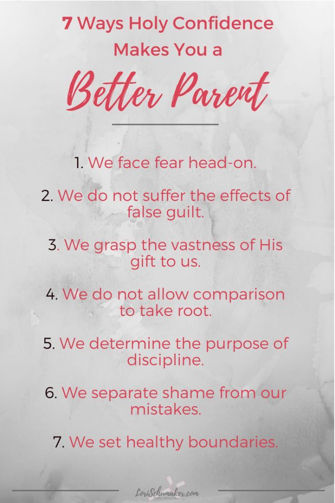 Parenting is the most important, yet most complicated act of our lives. Today, social media and technology make it even more difficult. What does Christian parenting, love, and holy confidence have to do with being a better parent? Here are 7 ways! #betterparent #christianparenting #love #holyconfidence #parentingtips