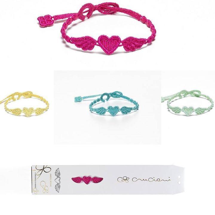 #cruciani #armband #sommer #angelheart www.armband-cruciani.de