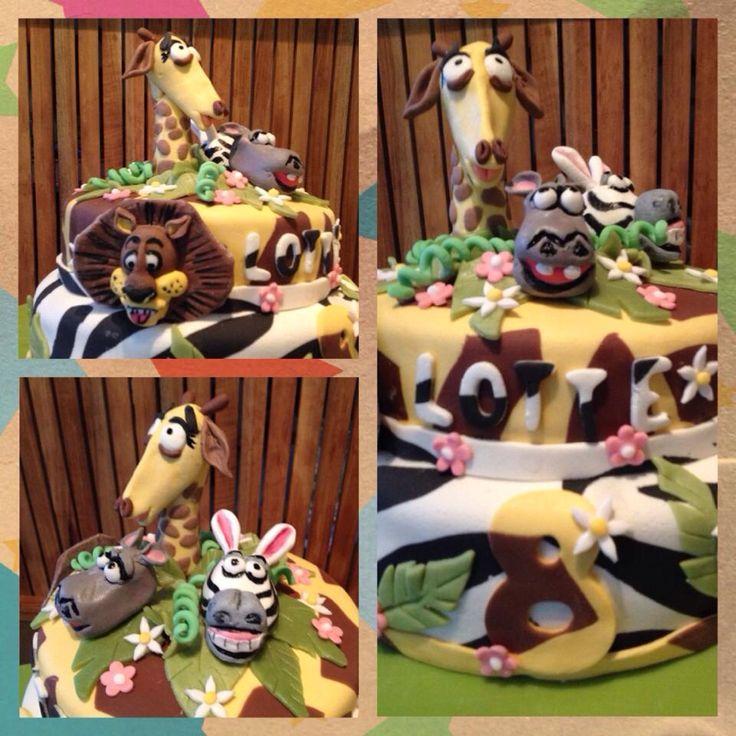 Madagascar taart