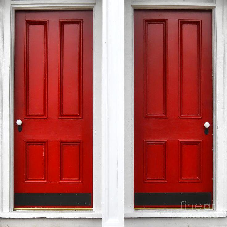 Red Wood Entry Doors Exterior Front Doors Entrance Doors & 10 best Red exterior paints images on Pinterest | Red doors ...