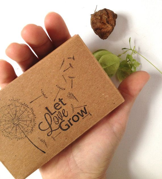 Set Of 10 Country Garden Flower Seed Wedding Favours With: 22 Best Images About Seed Gifts / Favor / Thank You On