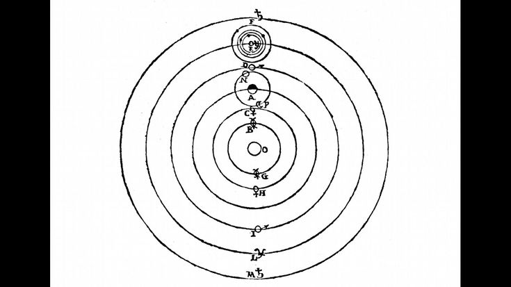 """""""Die Neugier steht immer an erster Stelle des Problems, das gelöst werden will"""", war Galileo überzeugt. In seinem unermüdlichen Forscherdrang stieß er auf immer neue Fragen und suchte nach Antworten. Seine Skizzen des Sonnensystems (Bild) verdeutlichen, wie er das Weltall sah. In seinem Werk """"Sidereus Nuncius"""" aus dem Jahr 1610 finden sich auch zahlreiche Zeichnungen des Mondes und seiner Krater."""