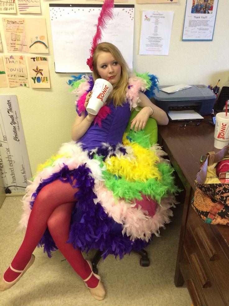 Mayzie La Bird costume Idea #seussical | Stage costumes ...