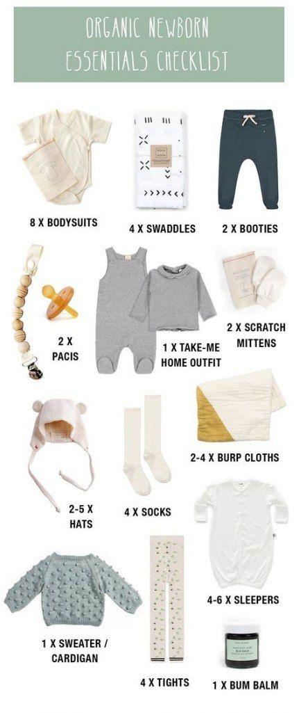 29+ Ideen für Baby Essentials Checkliste Einkaufslisten Schwangerschaft   – Baby hospital bag