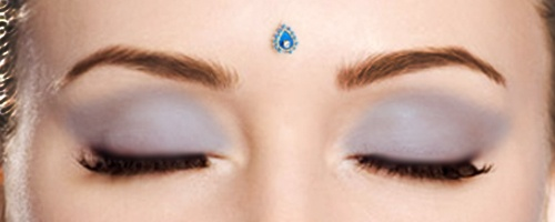 If I ever tattooed my face it would be a tiny flower on the third eye with a dermal inside it :)
