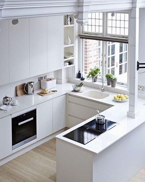 El triángulo de trabajo en la cocina   Home   Cocinas pequeñas ...