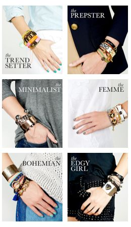 Arm parties for every style vibe! love it