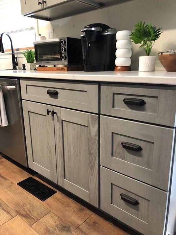 Nova Light Gray Assembled Kitchen Cabinets Online From Kitchen