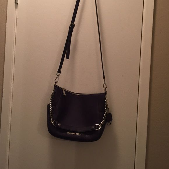 Michael Kors Purple Crossbody Only Worn Twice Great