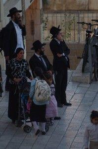 a chasidic family in Jerusalem