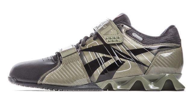 Reebok CrossFit Lifter Plus (Cargo Green) - Mens CrossFit Shoes