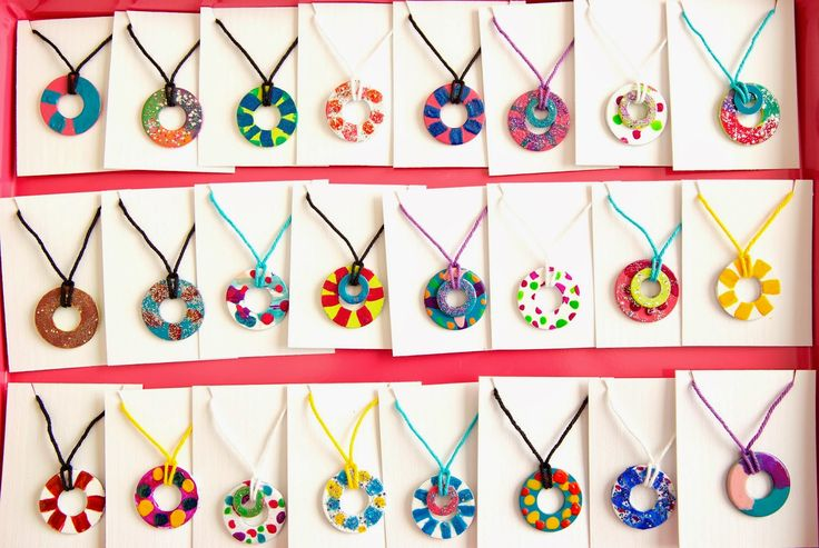 Holly's Arts and Crafts Corner: Craft Project: DIY Nail Polish Wash Necklaces & Magnets