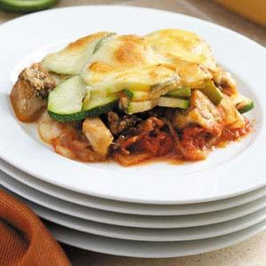 Baked Ratatouille Casserole - use up those garden fresh veggies and dig in!!!