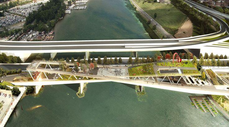 designs revealed for 11th street bridge park in washington DC - designboom   architecture