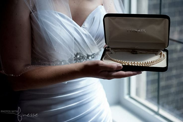 Calgary Wedding Photography - #yyc, #weddings, #bride - grandmother's pearls... Contact me via my website to inquire about your wedding.