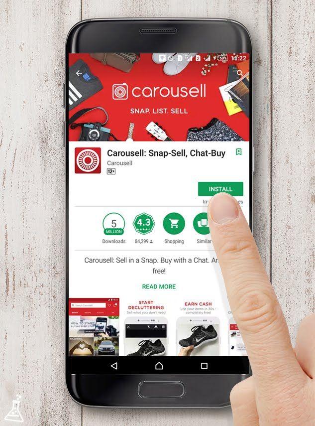Ternyata Jualan Barang Preloved Secara Online di Aplikasi Carousell itu Gampang!
