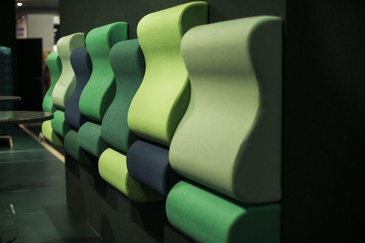 Lean In wall bench, design: Kaja Solgaard Dahl