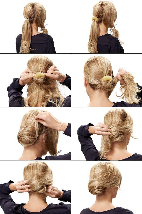 Tutorial hochsteckfrisur lange haare