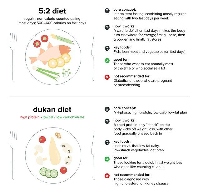 Compare 21 Popular Diets