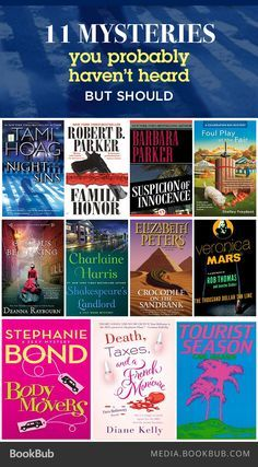 Fans of Janet Evanovich, Agatha Christie, or James Patterson: Check out this list of mysteries you might have missed, but definitely should read.