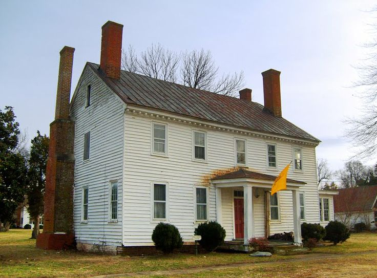 Fox Tavern - Port Royal, Caroline County, VA. (circa 1755)