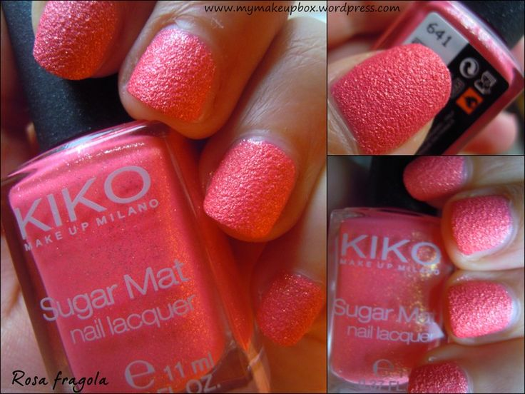 KIKO Sugar Mat 641 Rosa fragola | MyMakeupBox
