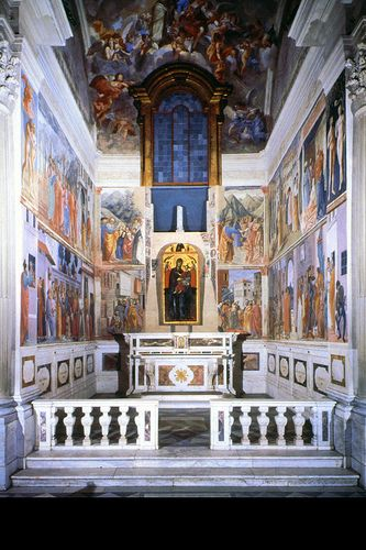 Masaccio.Florence.S. Maria Carmine.Brancacci Ch.  #TuscanyAgriturismoGiratola