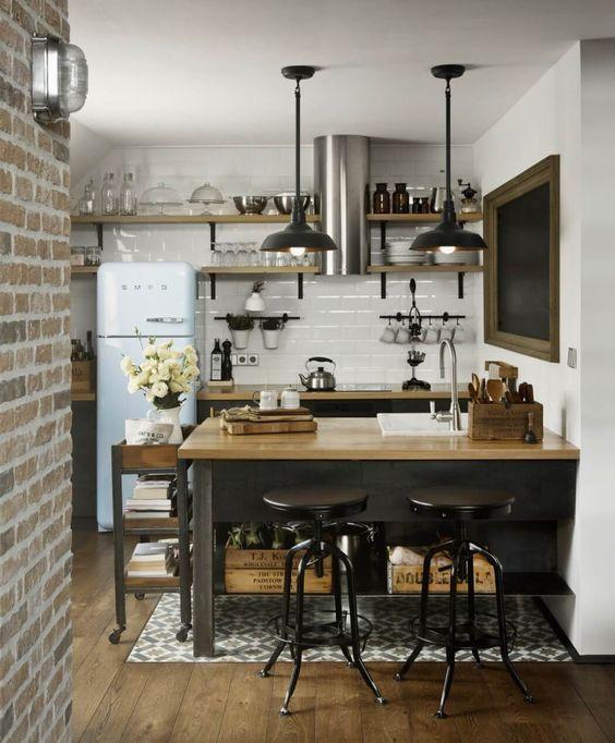 Masculine Kitchen by Dimitar Karanikolov