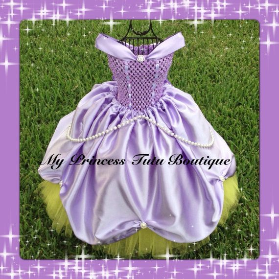 Sofia The First Tutu Dress Sofia The First by MyPrincessTutuBoutiq