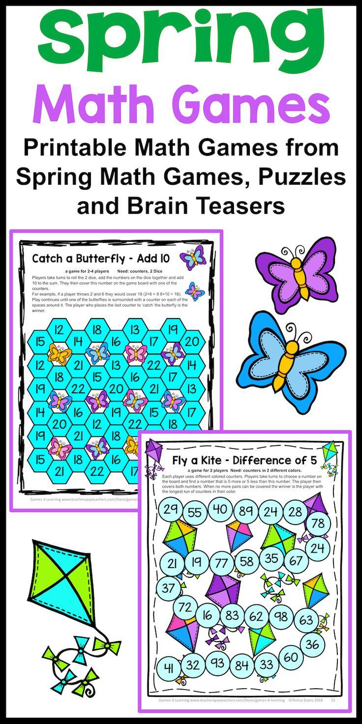 315 best Math Games images on Pinterest | Math activities, Math ...