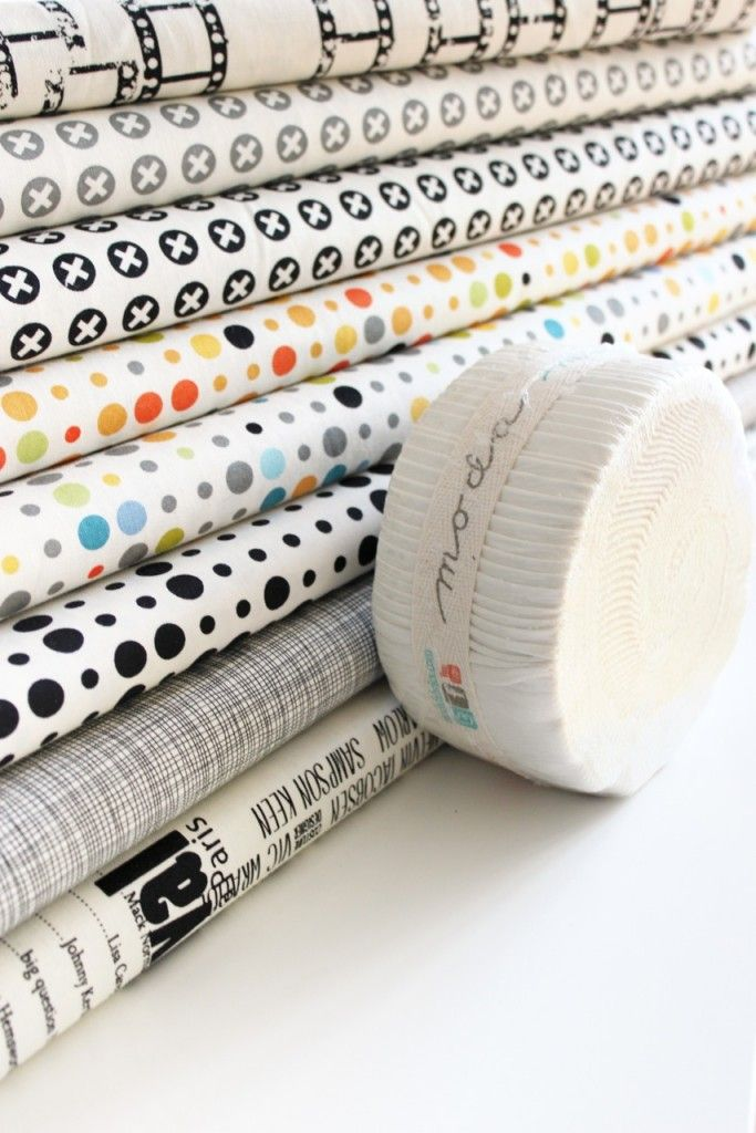 Zen Chic's new Reel Time fabric