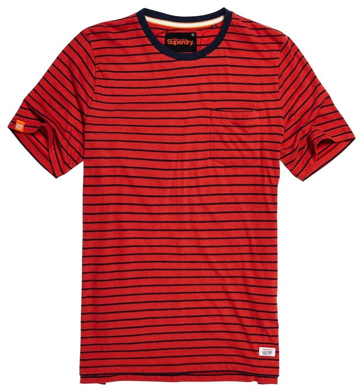 Superdry - Lite Loom City Pocket Tee