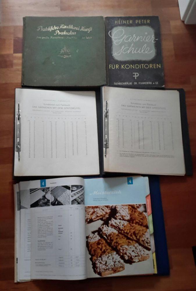 Alte Konditorei und Bäckerei Fachbücher Heiner Peter Prakoku Margarine Union etc in Antiquitäten & Kunst, Alte Berufe, Bäcker & Konditor | eBay!