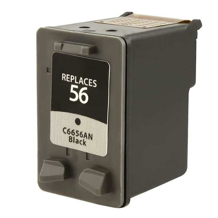 Refurbished Insten Remanufactured Ink Cartridge Replacement for HP C6656A/ 56 #471928