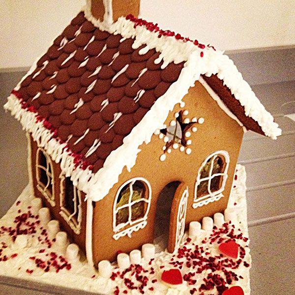 Mary Berry Gingerbread House with Royal Icing