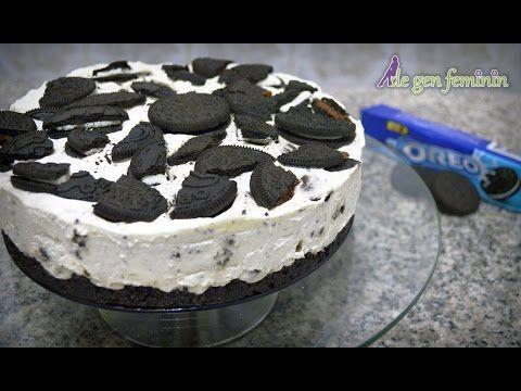 Cheesecake cu biscuiți Oreo – prăjitură fără coacere   De Gen Feminin