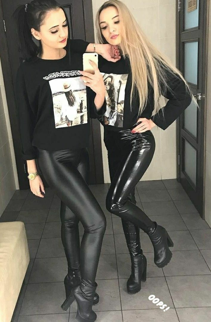 Pin auf Sexy Leather Babes