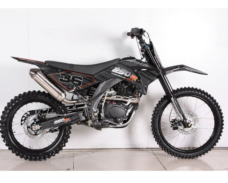 APOLLO 250cc 5-SPEED DELUXE DIRT BIKE.