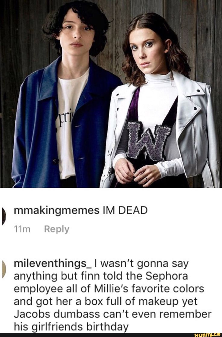 I don't really ship fillie but I hate Millie and Jacob together Millie deserves so much better that him