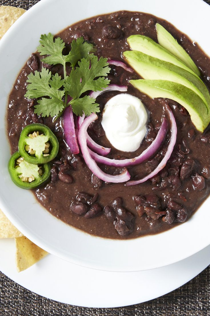 NYT Cooking: This American classic can be a perfect dish: big-tasting, filling, nutritious, easy and very possibly vegetarian. With their rich natural broth, turtle beans do not need bacon, ham or any meat ingredient to make a satisfying soup. Black bean soup recipes have a tendency to turn out sludgy or bland, but the trick here is to season generously, and purée sparingly. The bean...