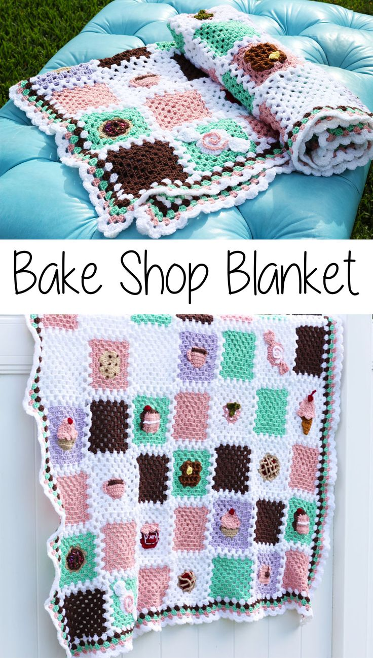 Free crochet pattern: Bake Shop Blanket