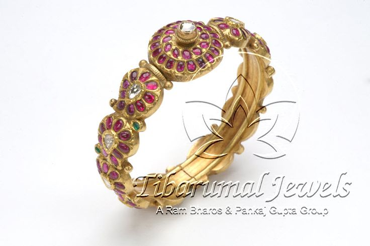 Kundan Bangle | Tibarumal Jewels | Jewellers of Gems, Pearls, Diamonds, and Precious Stones