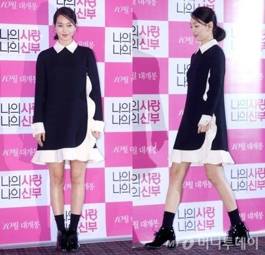 """'나의 사랑 나의 신부' 신민아 러블리 패션…""""조정석 반하겠어"""" :: 네이버 TV연예"""
