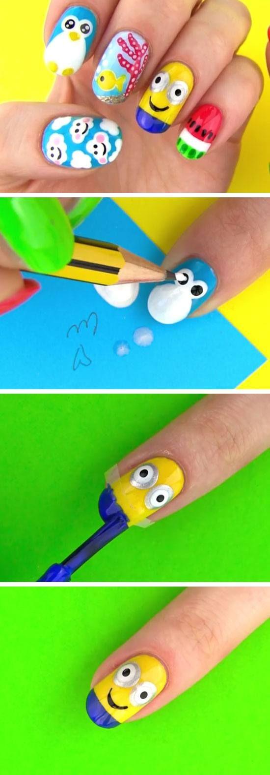 The 75 best Nails images on Pinterest | Fingernail designs, Nail art ...