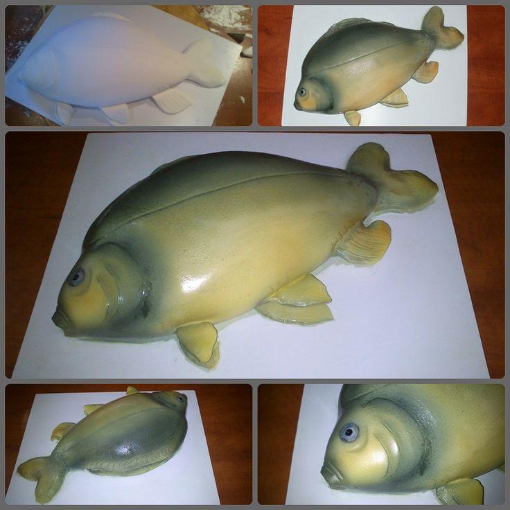 Carp (fish) cake - Ponty torta