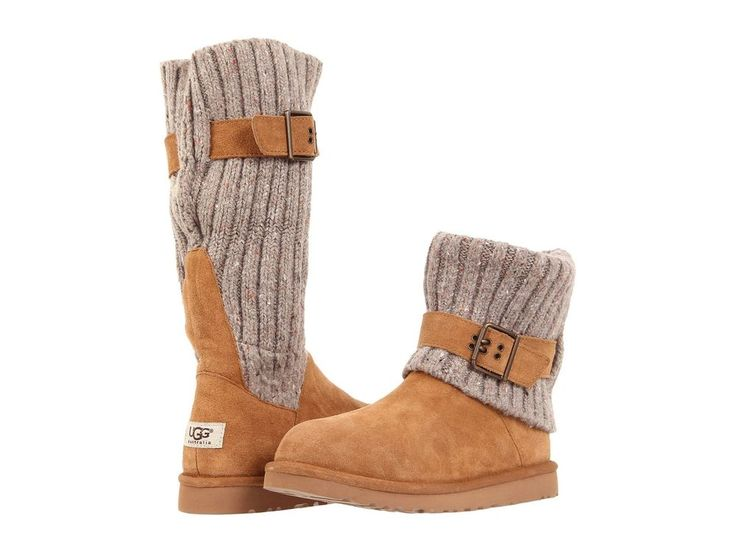 Ugg Australia Classic Cambridge Chestnut 1003175 Sheepskin Women Genuine Boot #UGGAustralia #FashionMidCalf