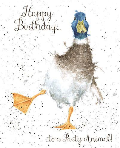 Duck Birthday Card - Wrendale Designs