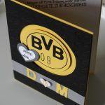 Hochzeit BVB Dortmund Fan Karte